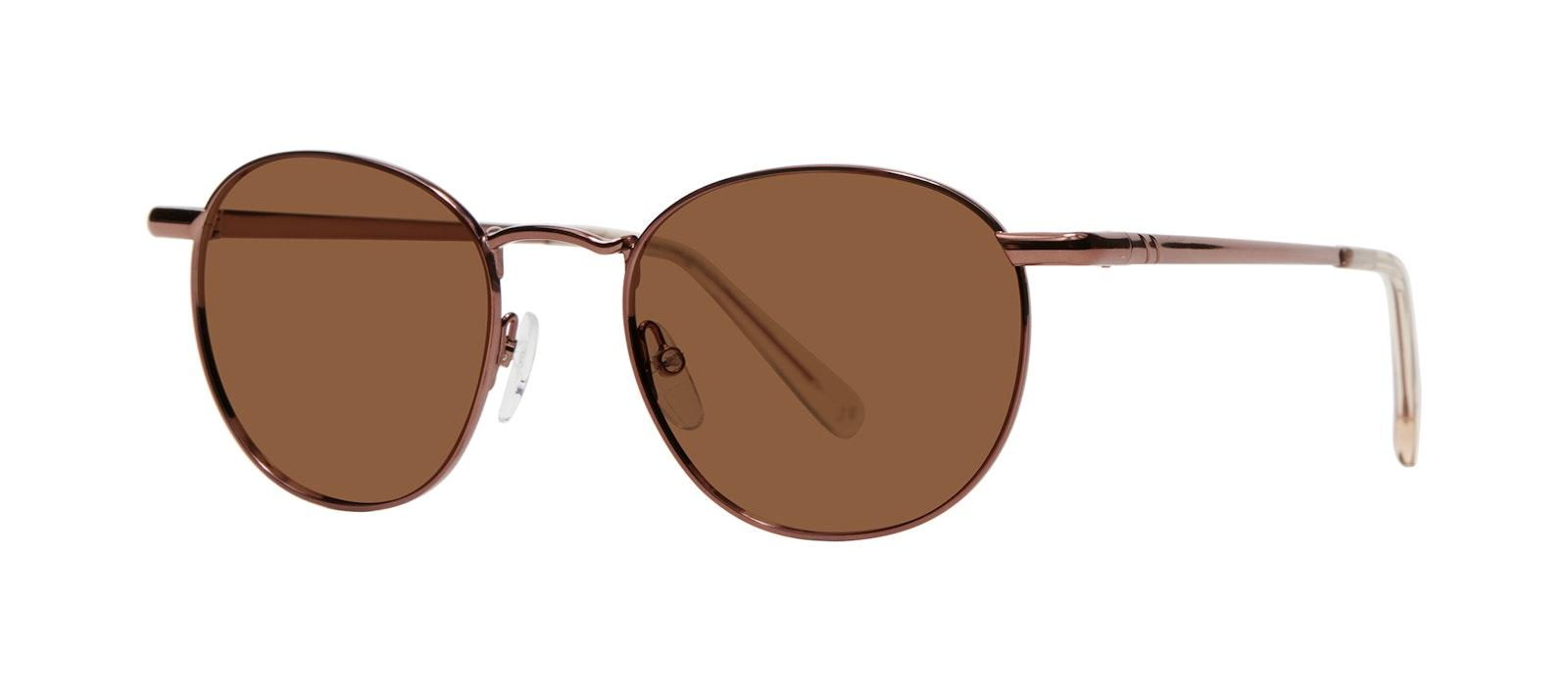 Affordable Fashion Glasses Round Sunglasses Men Women Divine L Copper Tilt