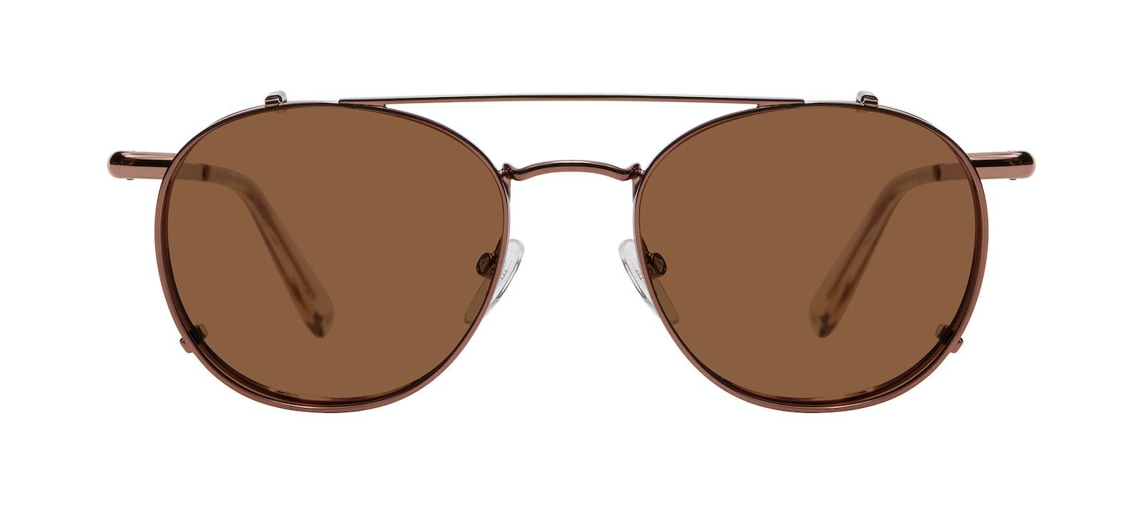 Affordable Fashion Glasses Accessory Men Women Divine Clip L Copper Side