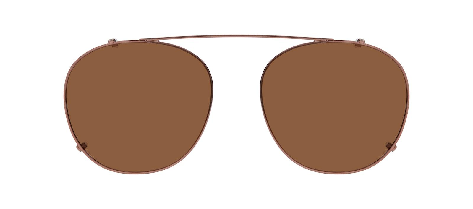 Affordable Fashion Glasses Accessory Men Women Divine Clip L Copper Front