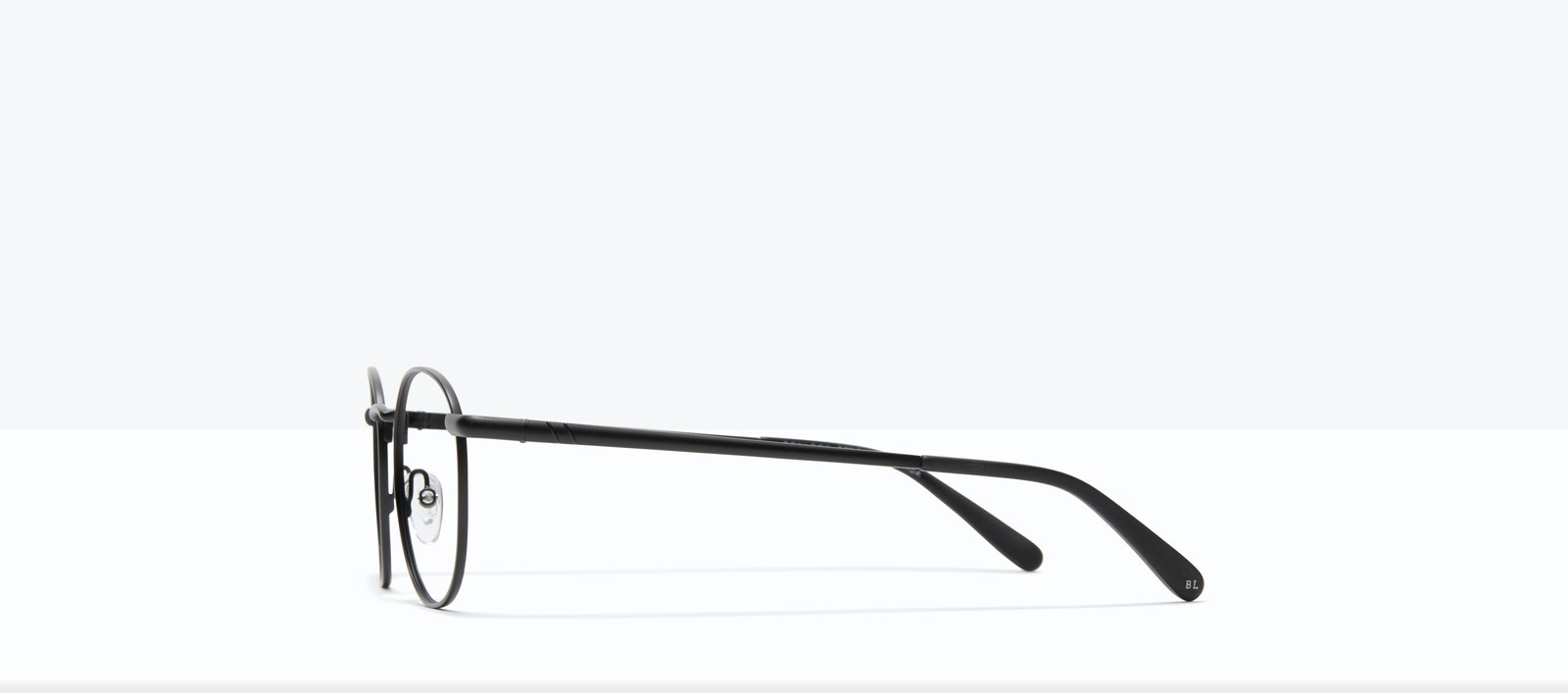 Affordable Fashion Glasses Round Eyeglasses Men Women Divine Matte Black Side