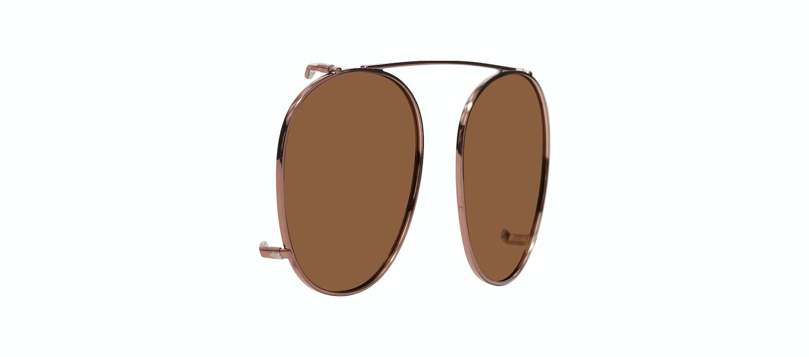Affordable Fashion Glasses Accessory Women Divine Clip M Copper Tilt