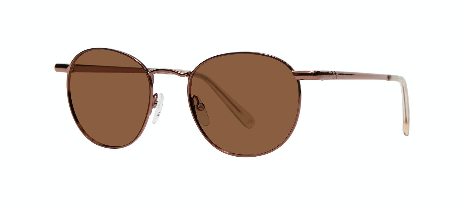 Affordable Fashion Glasses Round Sunglasses Men Women Divine M Copper Tilt