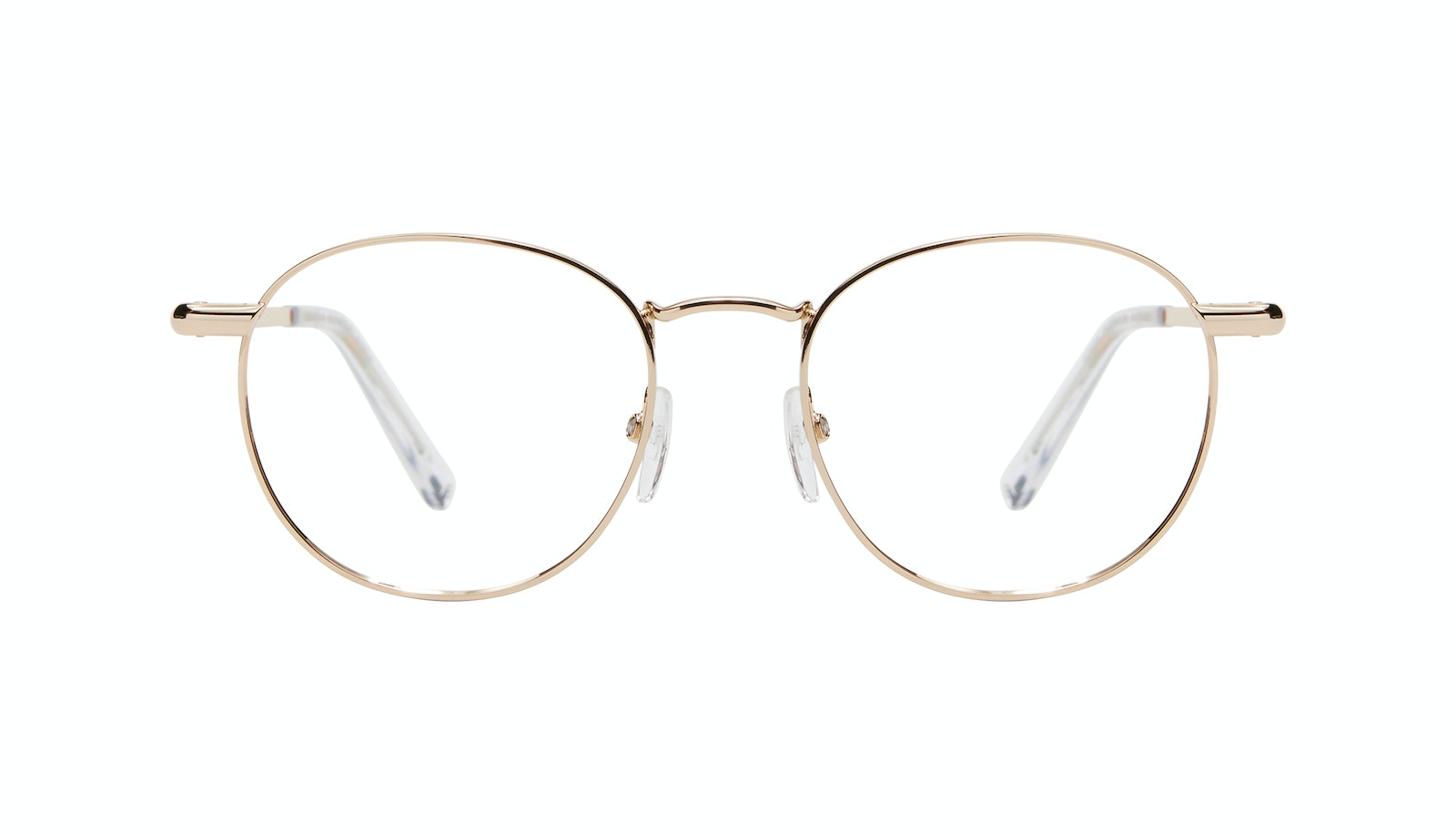 Affordable Fashion Glasses Round Eyeglasses Women Divine M Gold