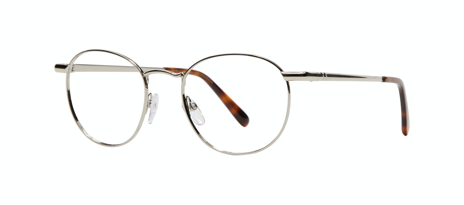 Affordable Fashion Glasses Round Eyeglasses Men Women Divine M Silver Tilt