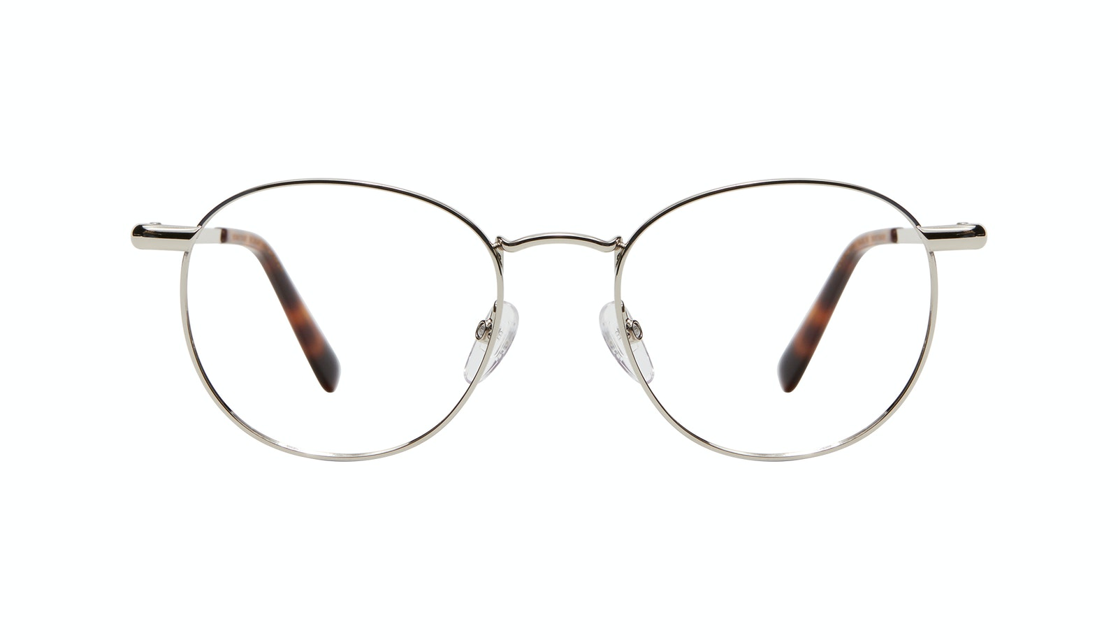 Affordable Fashion Glasses Round Eyeglasses Men Women Divine M Silver