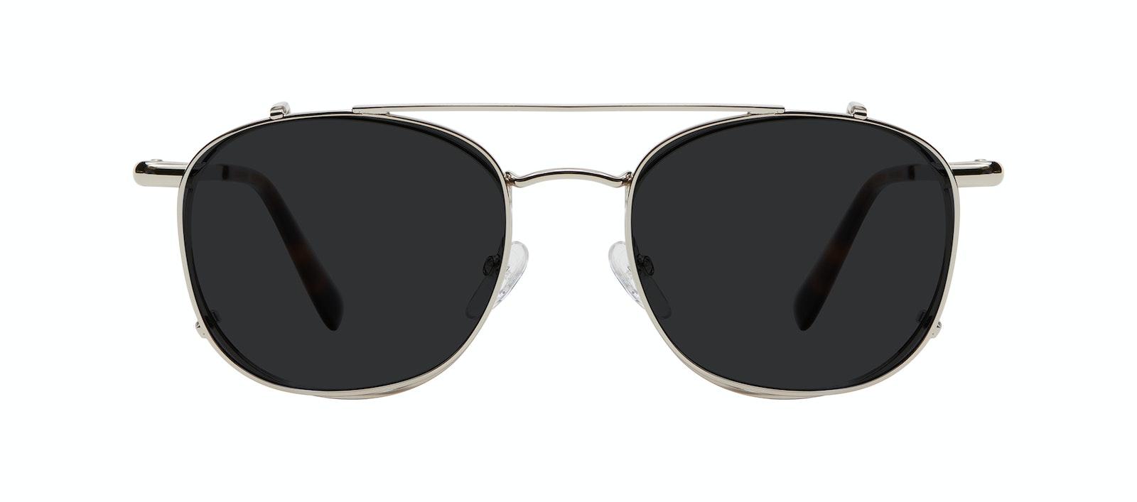 Affordable Fashion Glasses Accessory Women Divine Clip M Silver Side