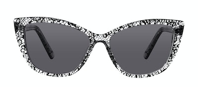 Affordable Fashion Glasses Cat Eye Daring Cateye Sunglasses Women Dolled Up Black Lace Front