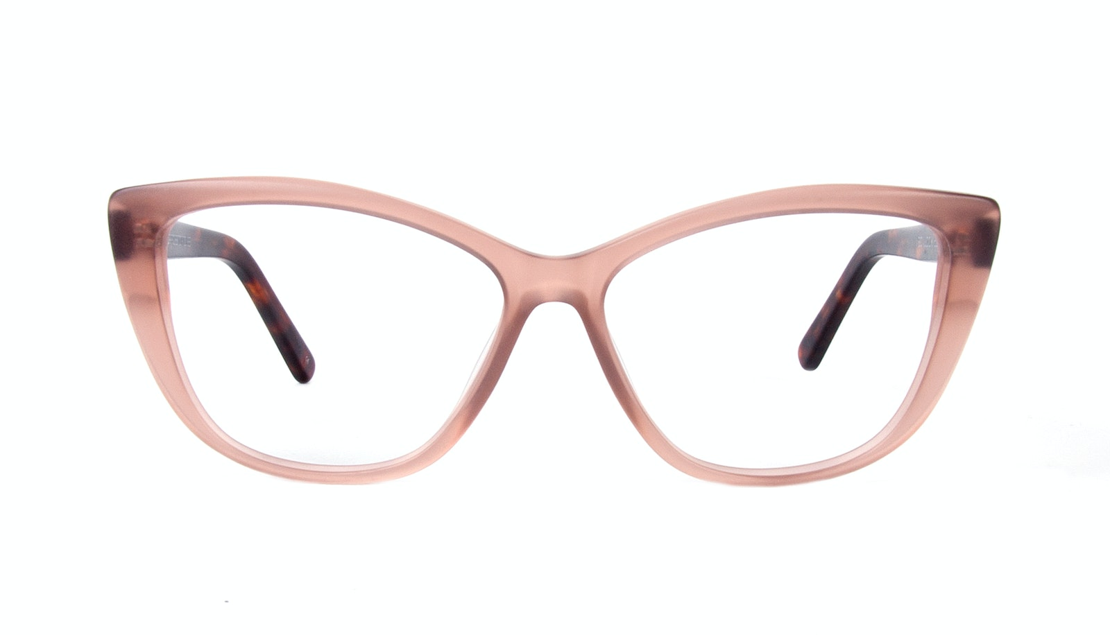 Affordable Fashion Glasses Cat Eye Daring Cateye Eyeglasses Women Dolled Up Rose Tortoise Matte