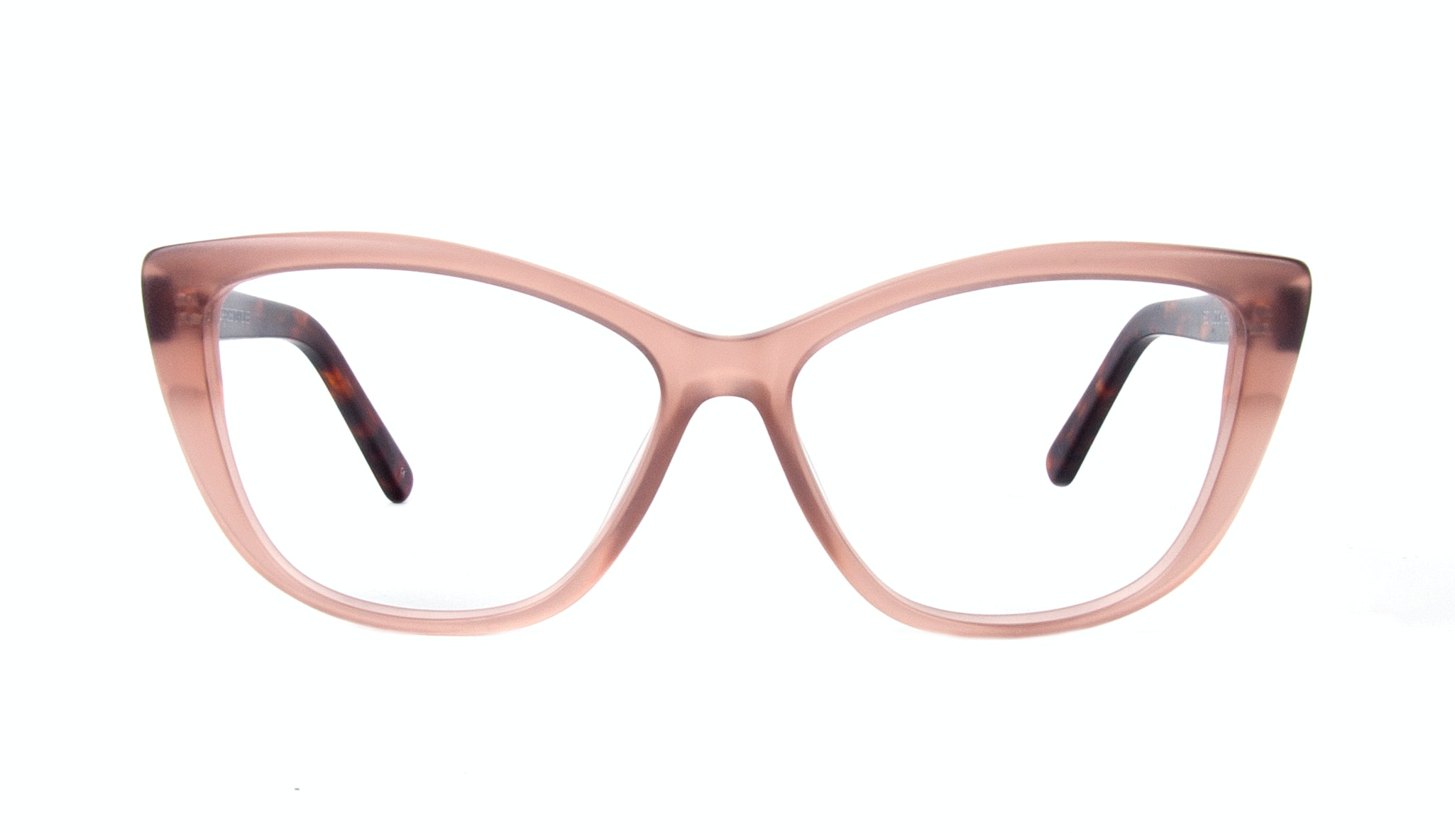 Affordable Fashion Glasses Cat Eye Eyeglasses Women Dolled Up Rose Tortoise Matte