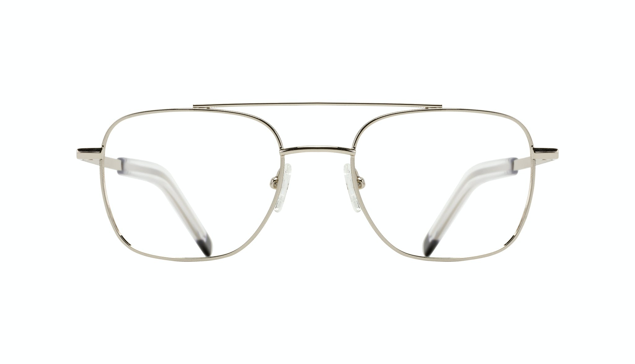 Affordable Fashion Glasses Aviator Eyeglasses Men Drift Silver