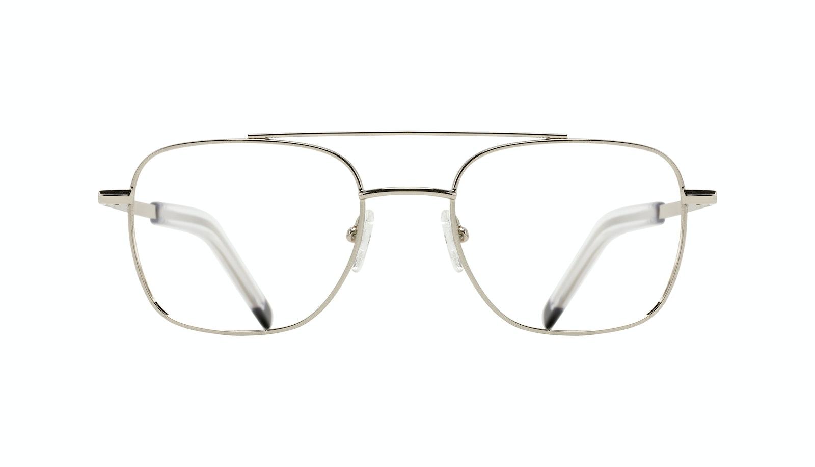 Affordable Fashion Glasses Aviator Eyeglasses Men Drift Silver