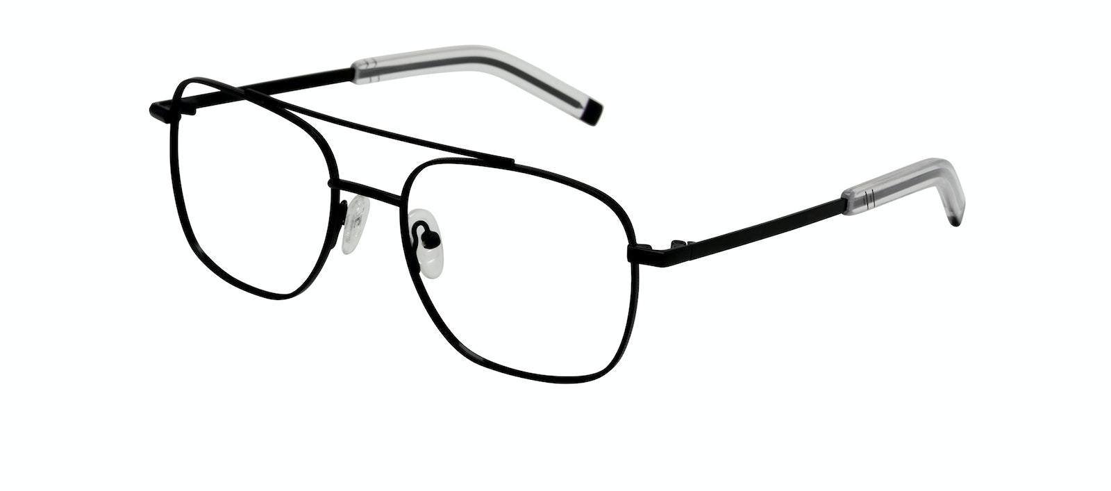 Affordable Fashion Glasses Aviator Eyeglasses Men Drift Black Tilt