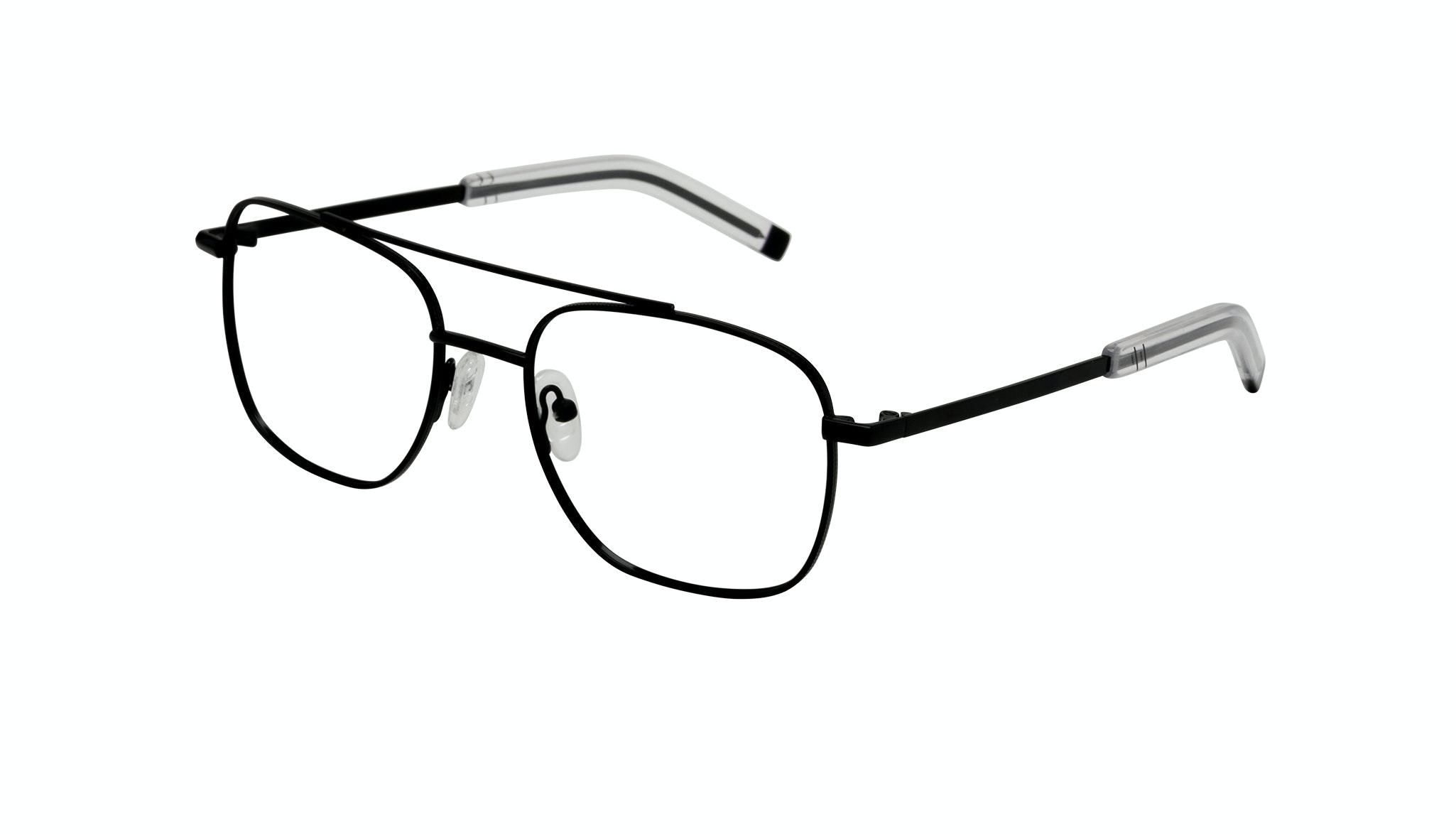 Affordable Fashion Glasses Aviator Eyeglasses Men Drift Black Tilt