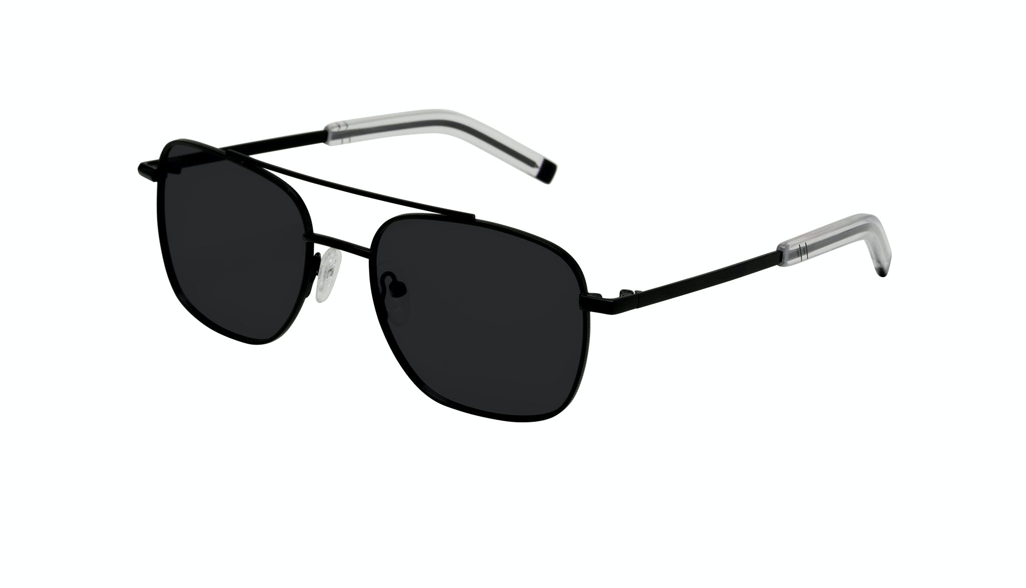 Affordable Fashion Glasses Aviator Sunglasses Men Drift Black Tilt