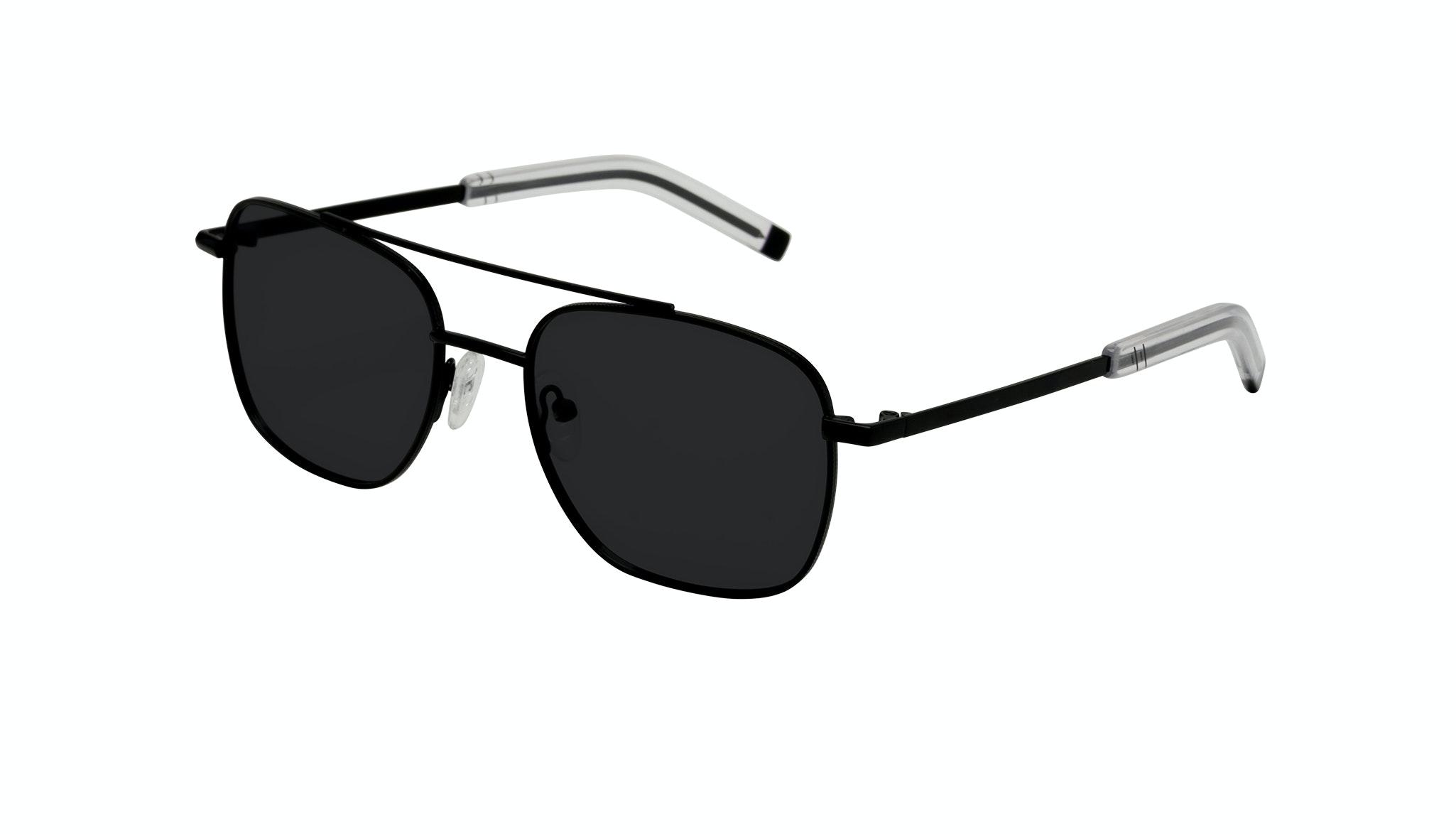 Affordable Fashion Glasses Aviator Sunglasses Men Drift Black Tilt