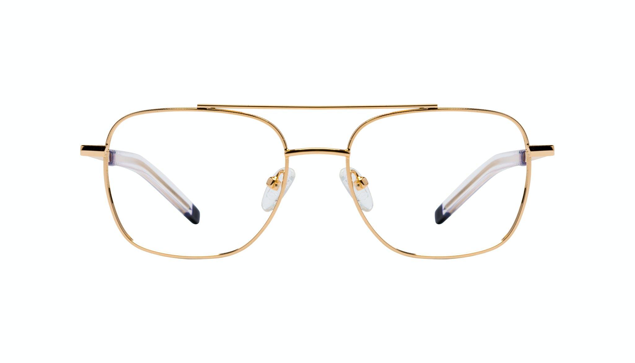 Lunettes tendance Lunettes aviateur Lunettes de vue Hommes Drift Gold