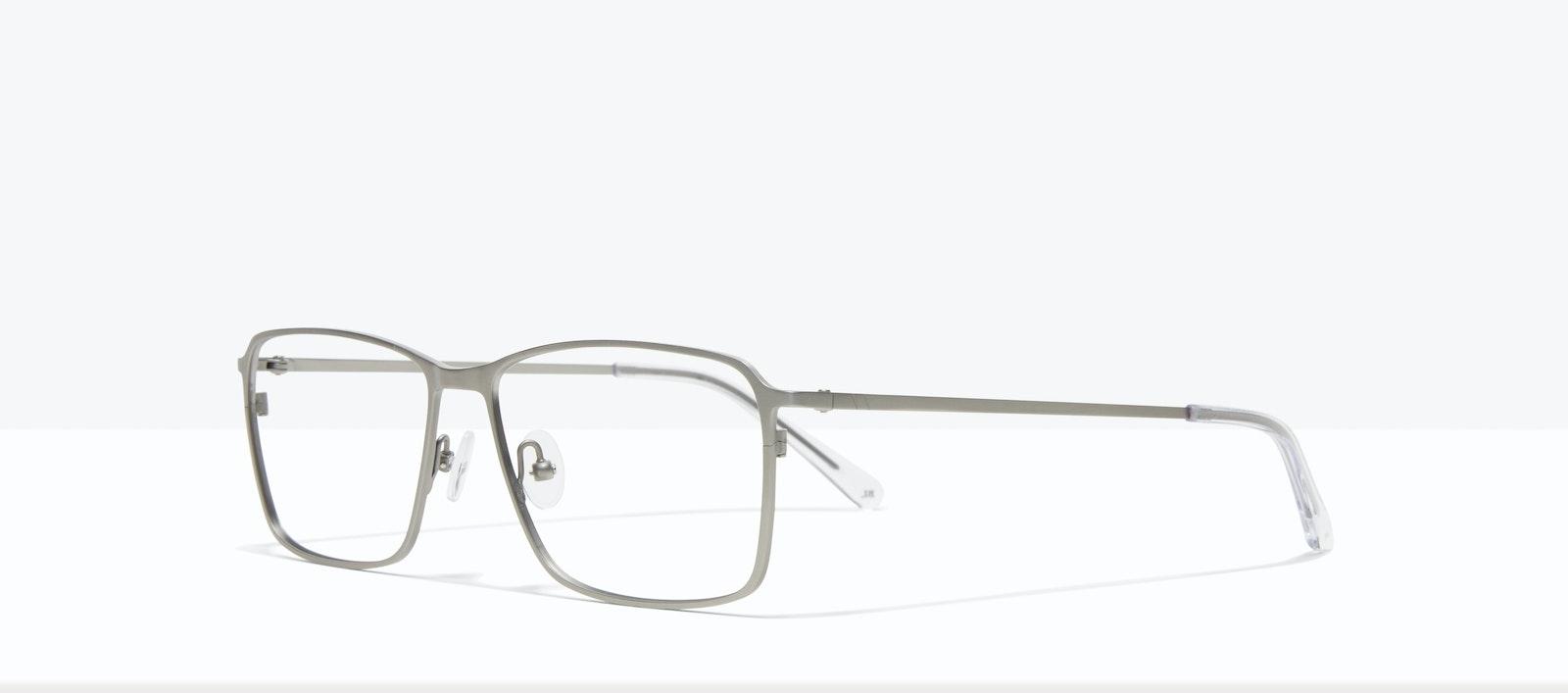 Affordable Fashion Glasses Square Eyeglasses Men Drive Silver Tilt