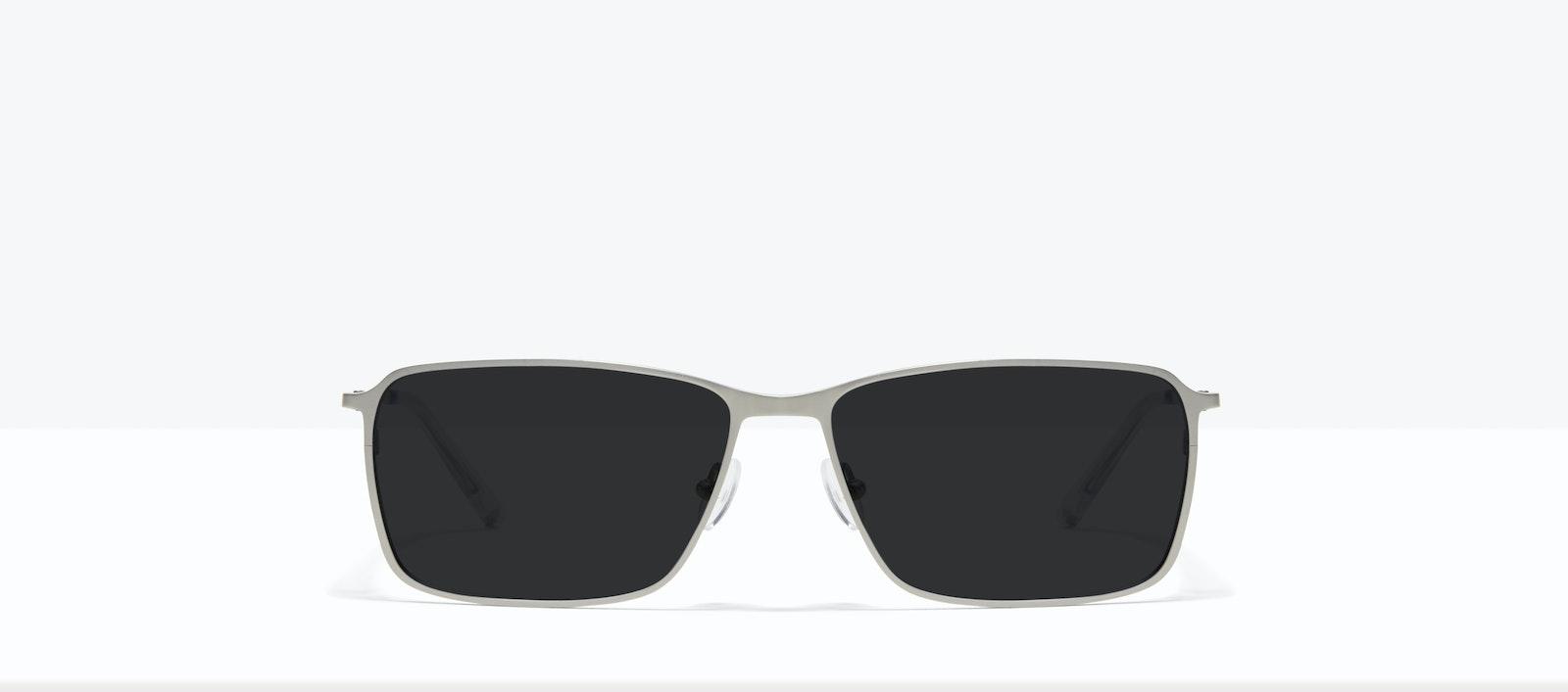 Affordable Fashion Glasses Square Sunglasses Men Drive Silver Front