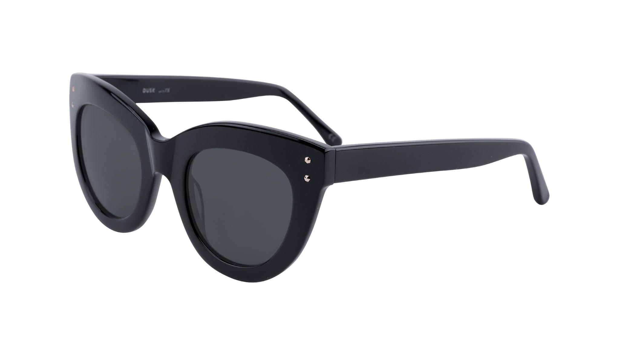 Affordable Fashion Glasses Cat Eye Sunglasses Women Dusk Onyx Tilt