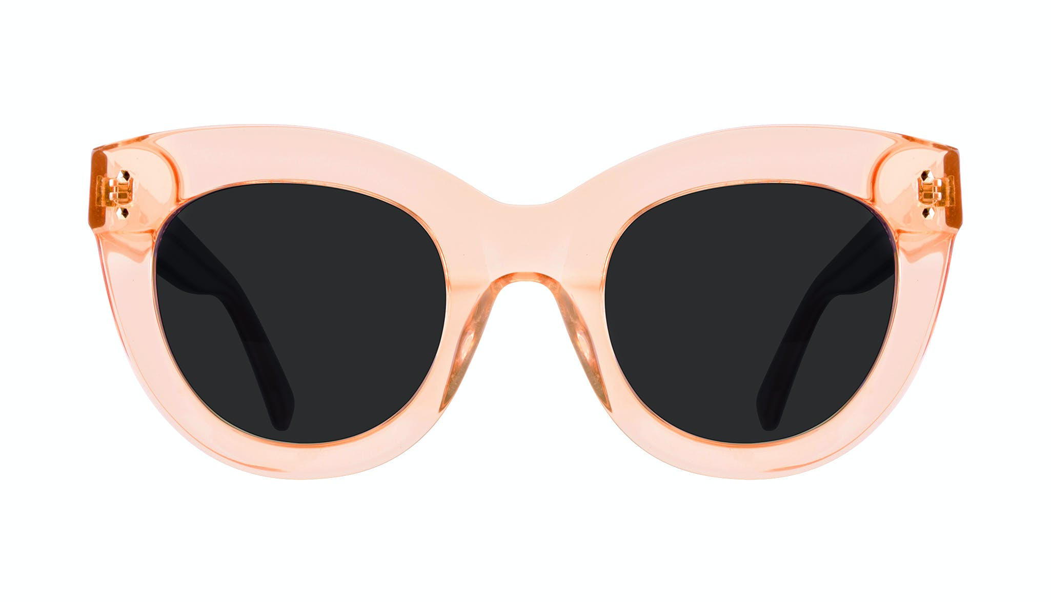 Affordable Fashion Glasses Cat Eye Sunglasses Women Dusk Peach