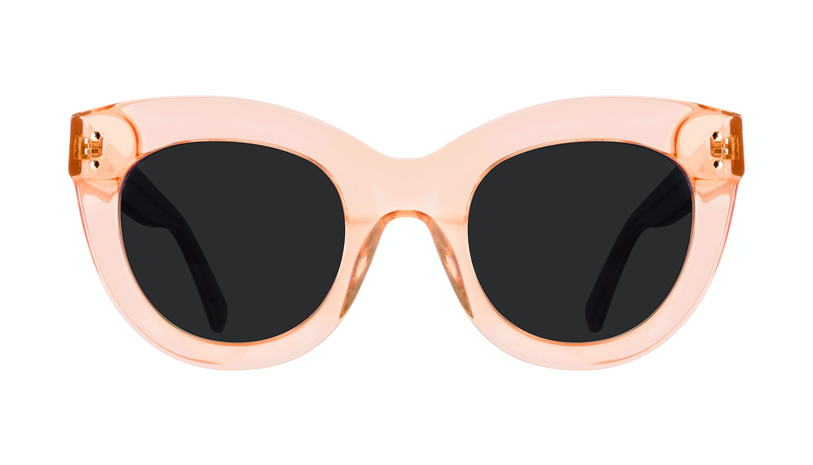 Affordable Fashion Glasses Sunglasses Women Dusk Peach