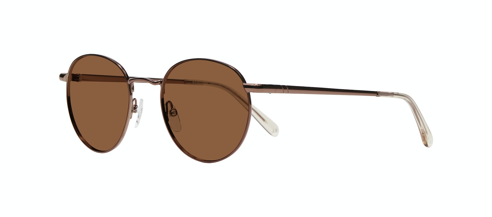 Affordable Fashion Glasses Round Sunglasses Women Dynasty M Copper Tilt