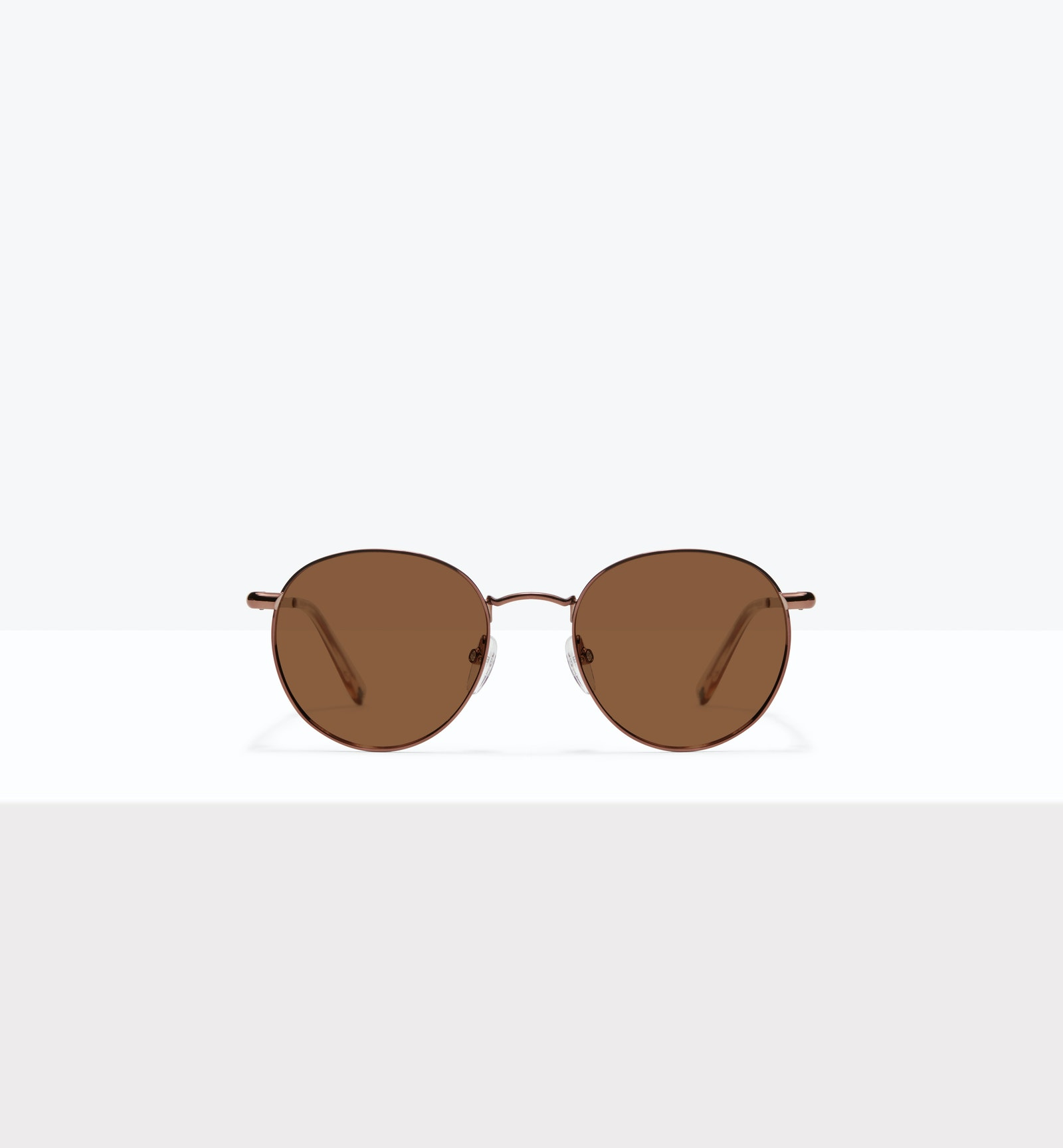 Affordable Fashion Glasses Round Sunglasses Men Women Dynasty M Copper