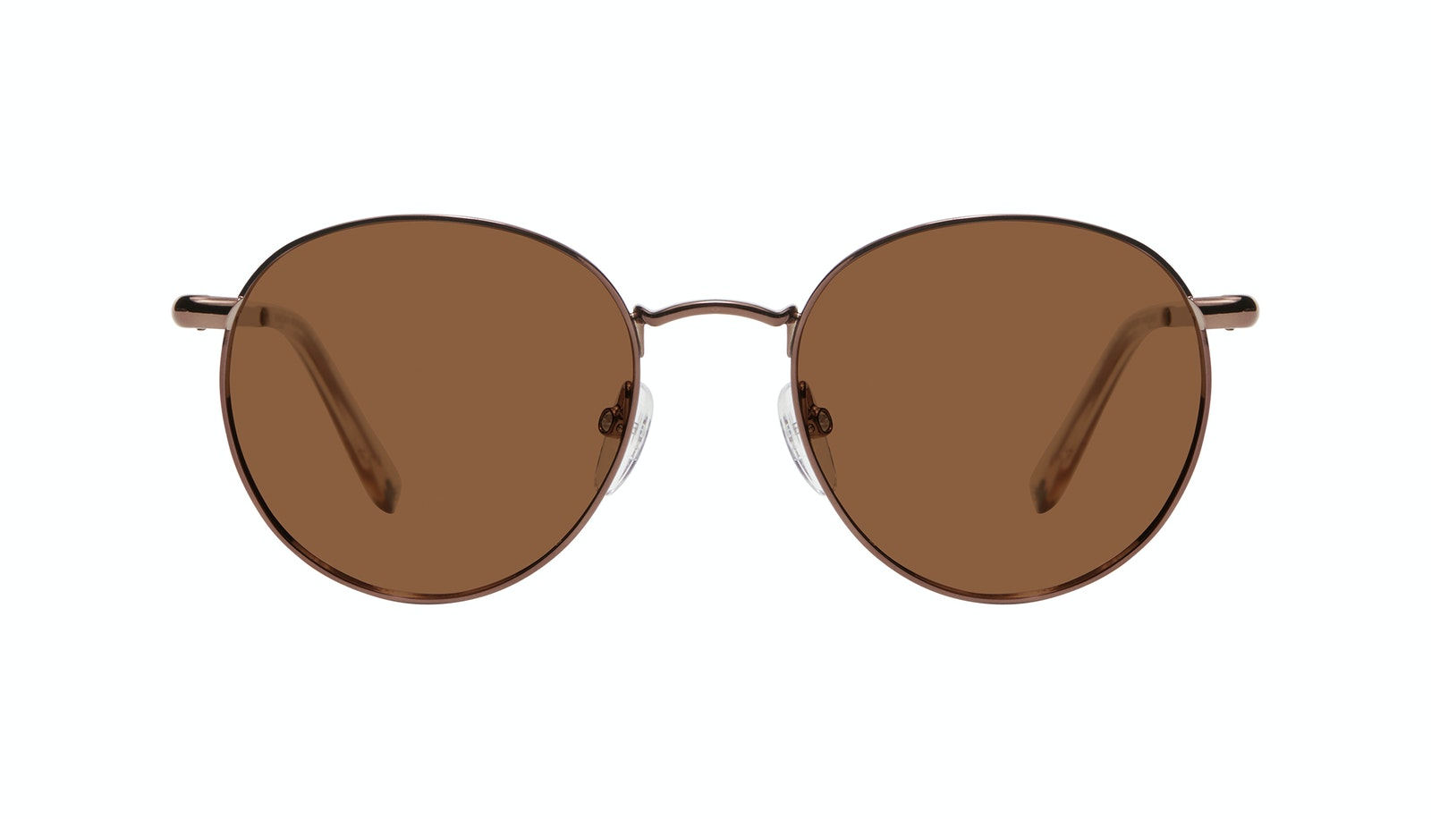Affordable Fashion Glasses Round Sunglasses Women Dynasty M Copper