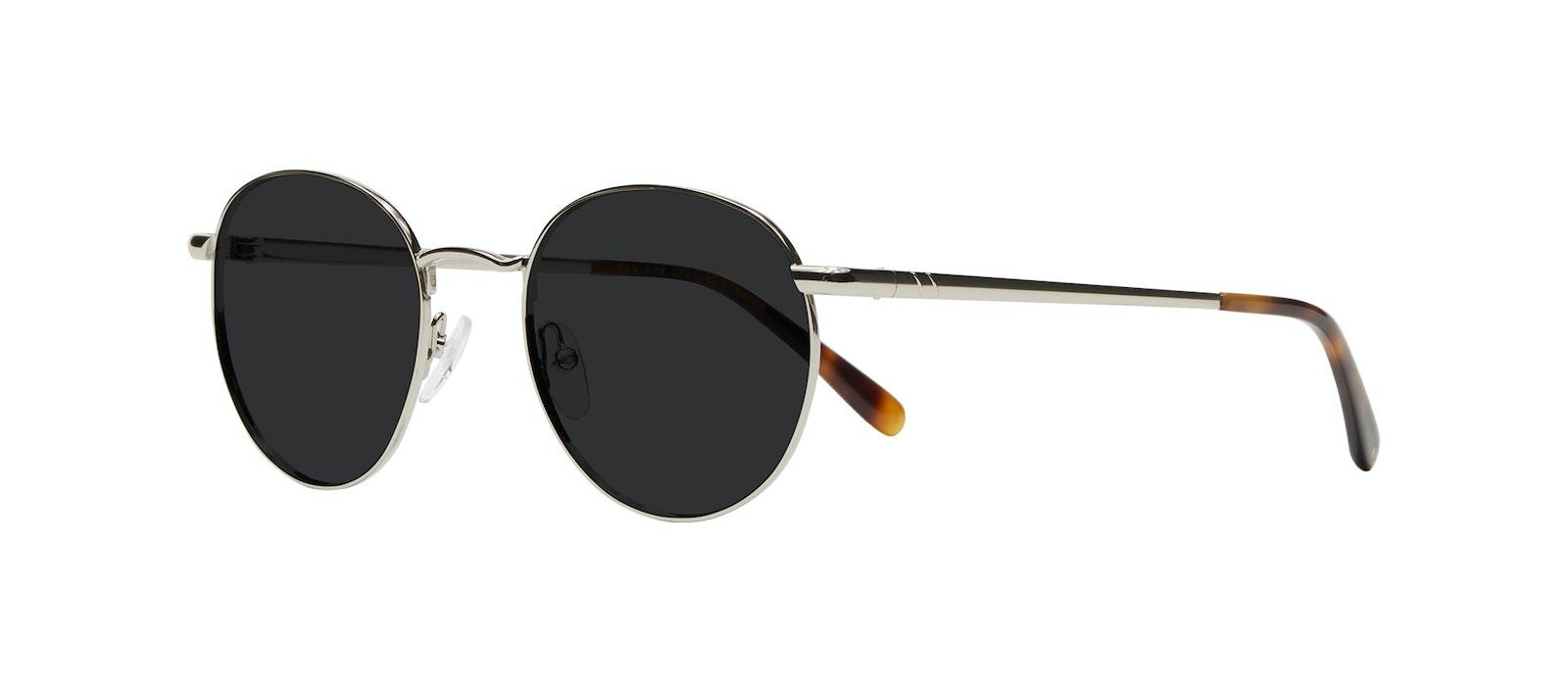 Affordable Fashion Glasses Round Sunglasses Women Dynasty M Silver Tilt