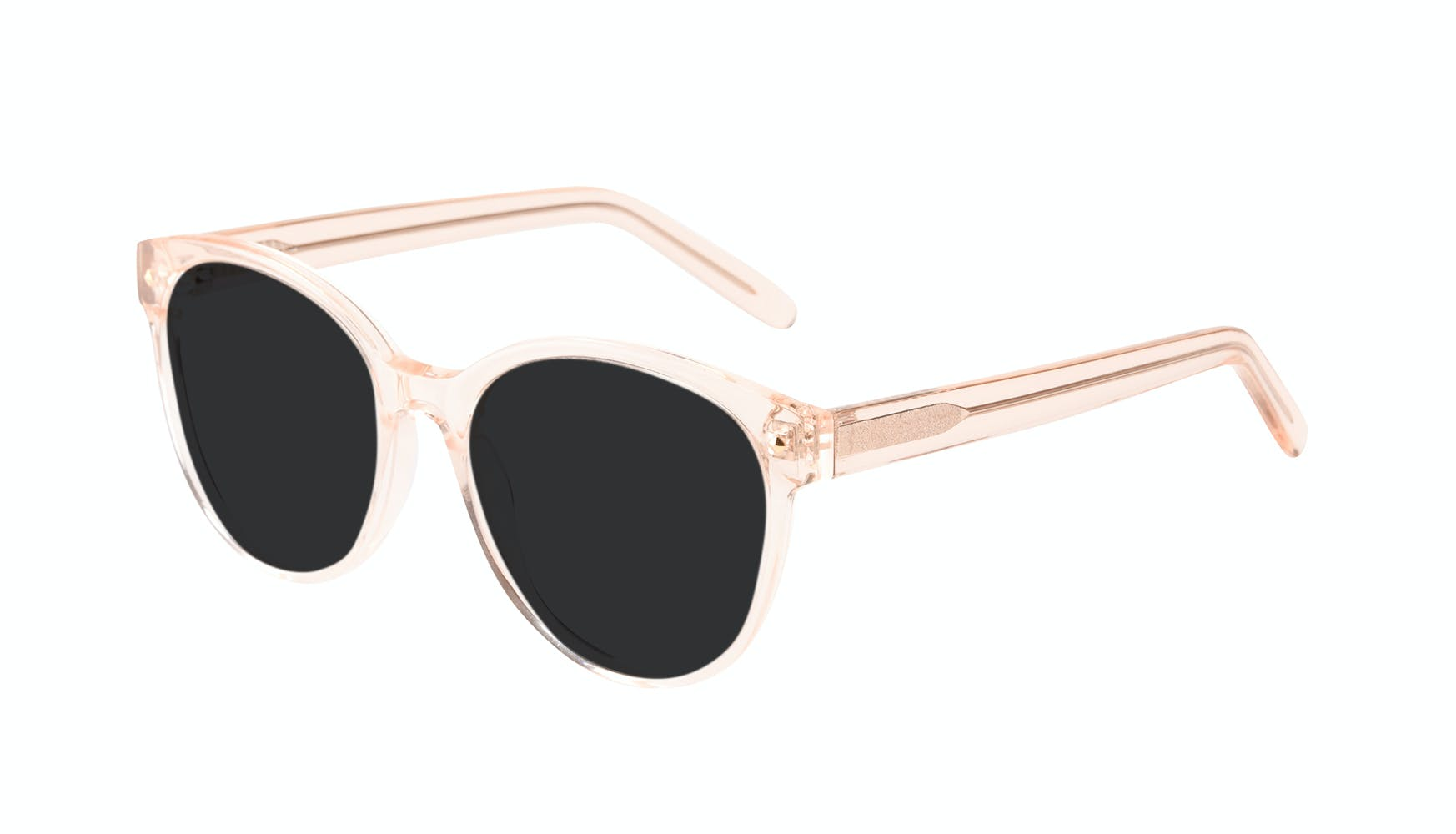 Affordable Fashion Glasses Round Sunglasses Women Eclipse Blond Tilt
