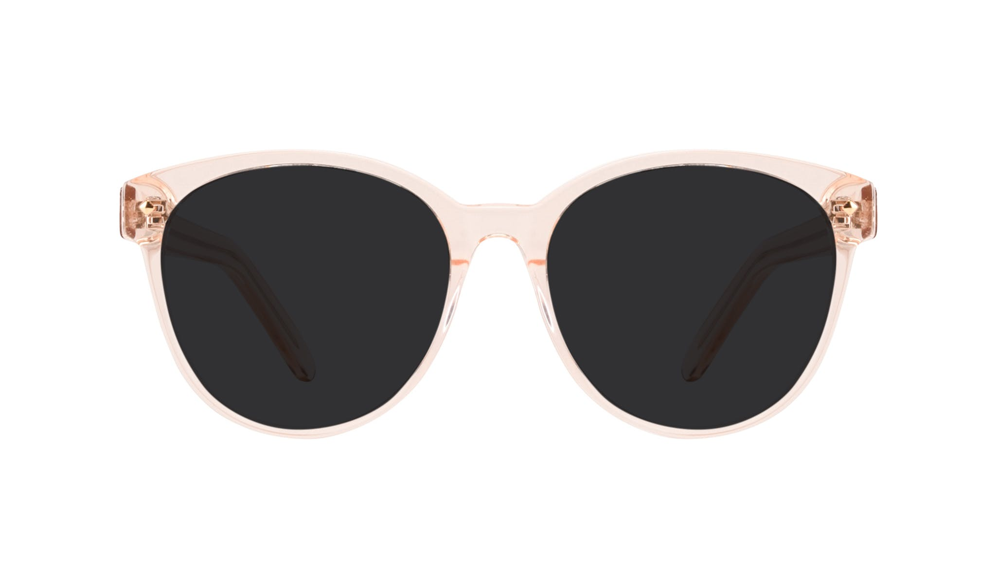 Affordable Fashion Glasses Round Sunglasses Women Eclipse Blond Front