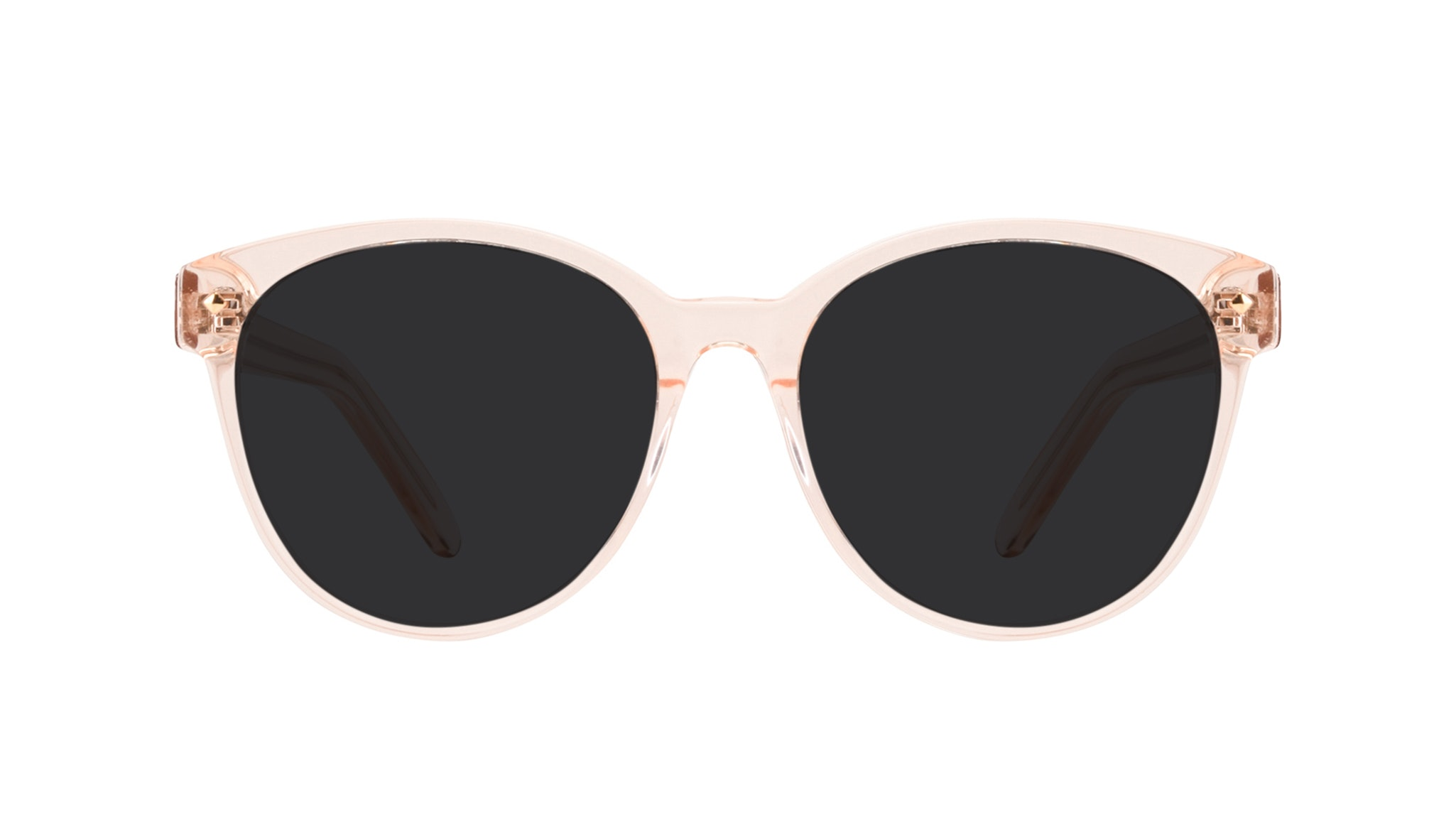 Affordable Fashion Glasses Round Sunglasses Women Eclipse Blond