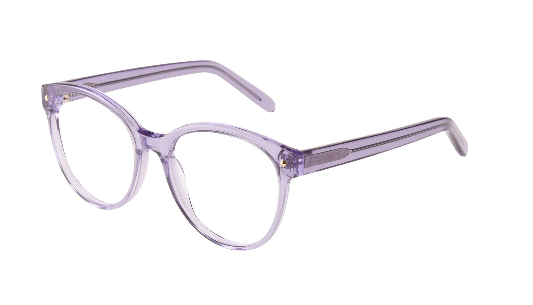 Affordable Fashion Glasses Round Eyeglasses Women Eclipse Lavender Tilt
