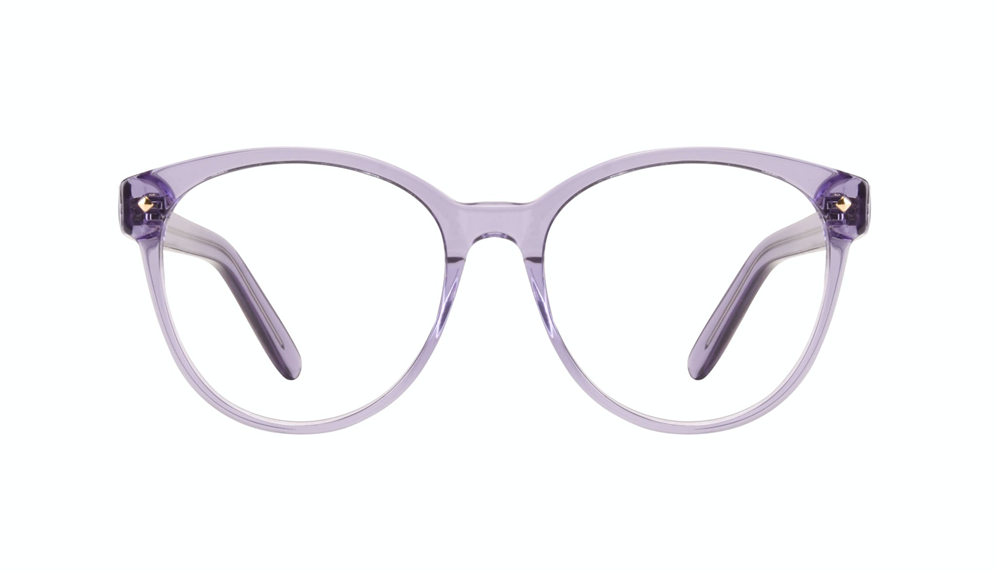 Affordable Fashion Glasses Round Eyeglasses Women Eclipse Lavender Front