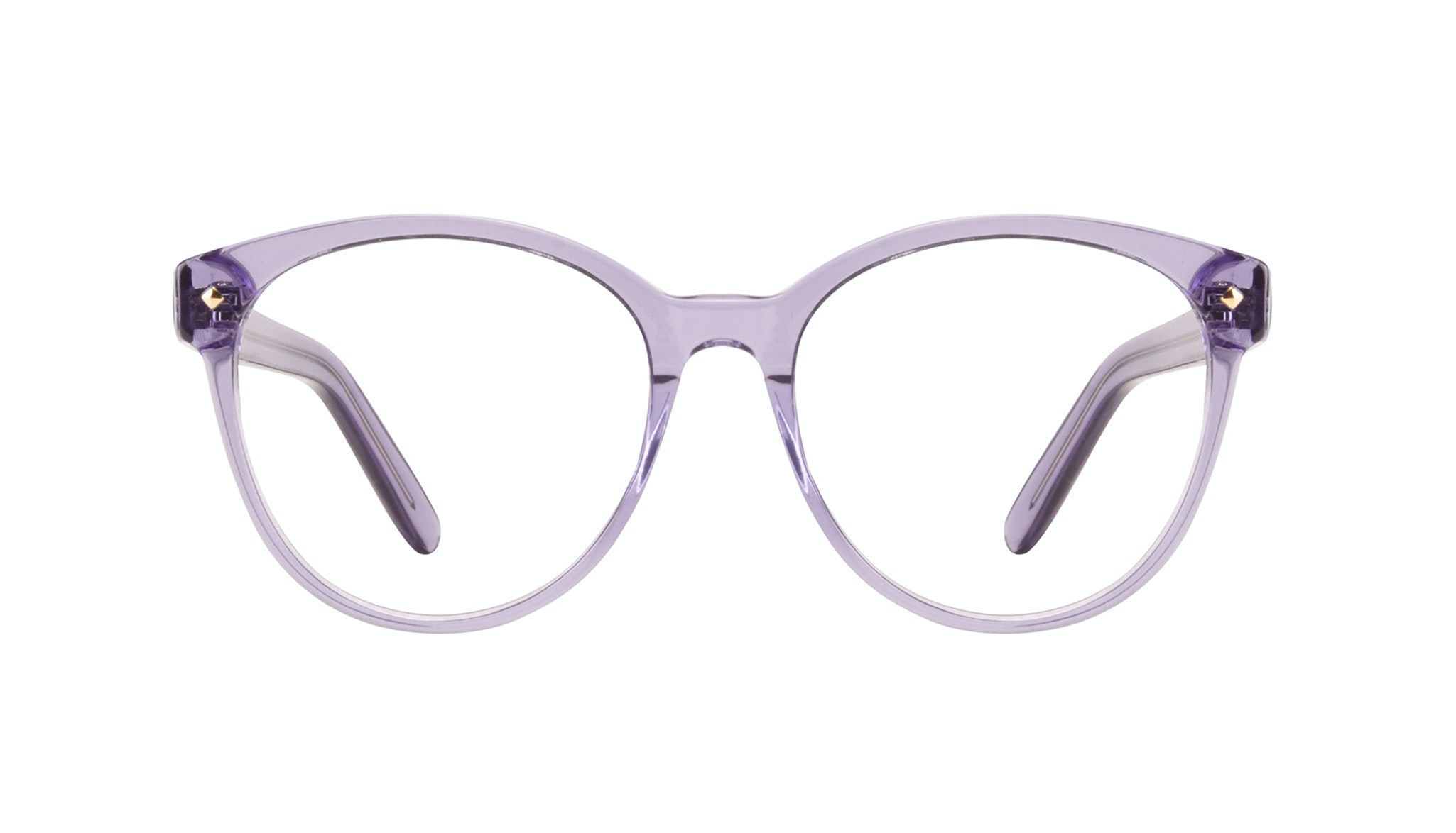 Affordable Fashion Glasses Cat Eye Round Eyeglasses Women Eclipse Lavender