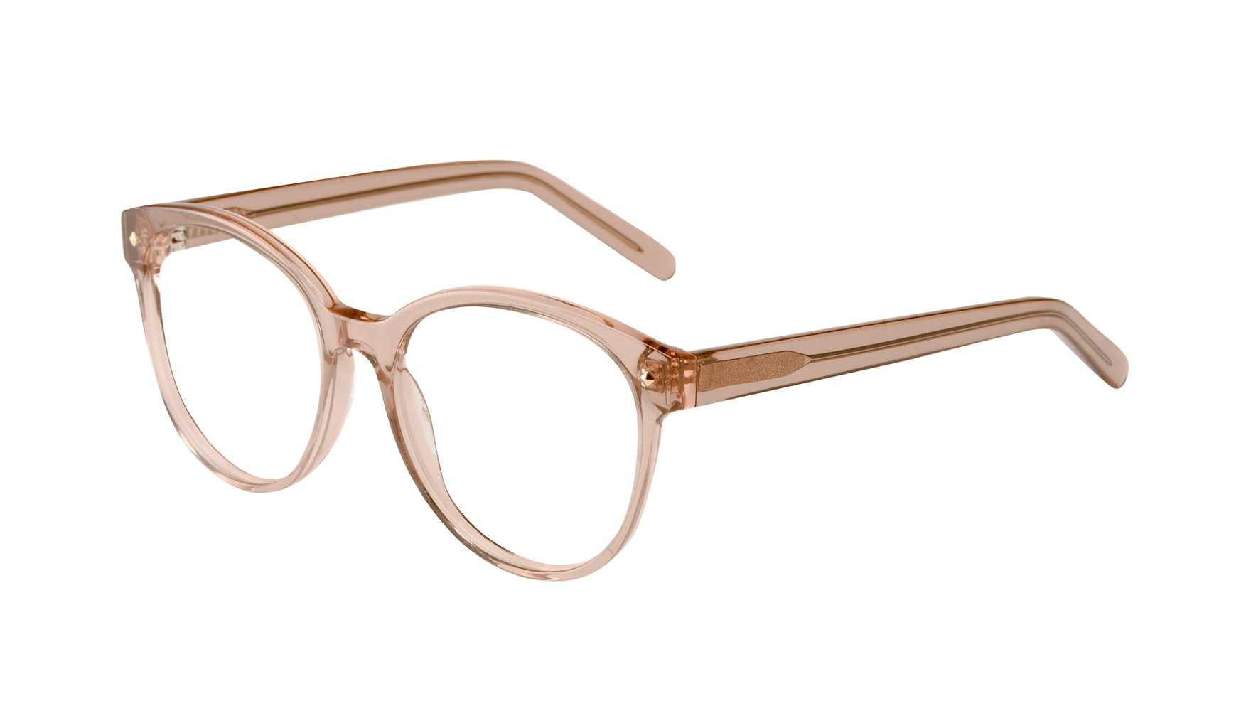 Affordable Fashion Glasses Round Eyeglasses Women Eclipse Toffee Tilt
