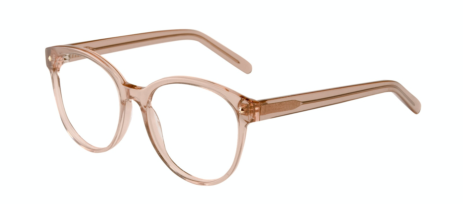 Affordable Fashion Glasses Round Eyeglasses Women Eclipse Toffee Tilt