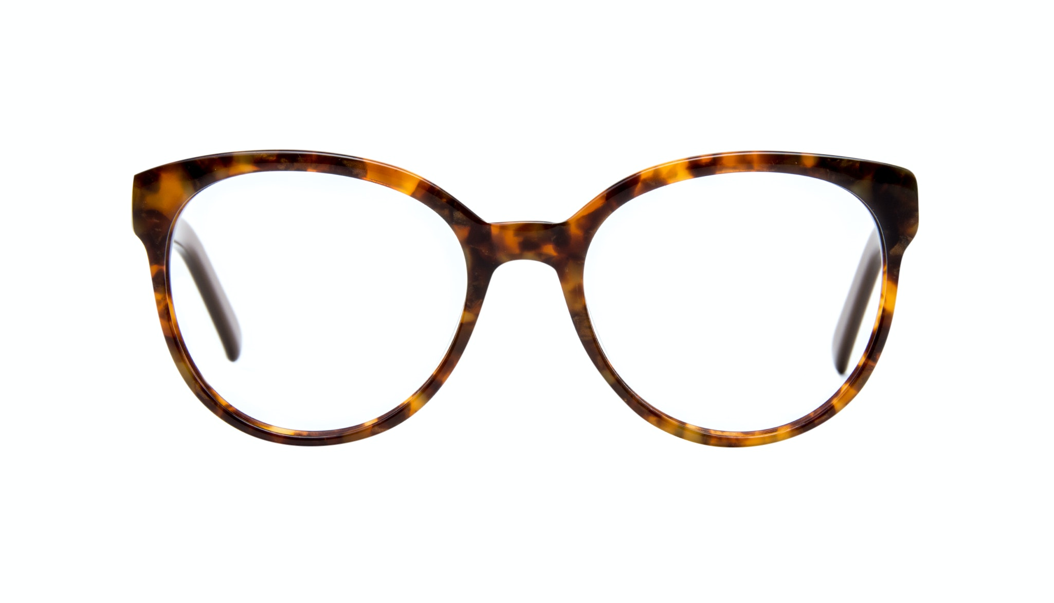 Affordable Fashion Glasses Cat Eye Round Eyeglasses Women Eclipse Tort Gold Front