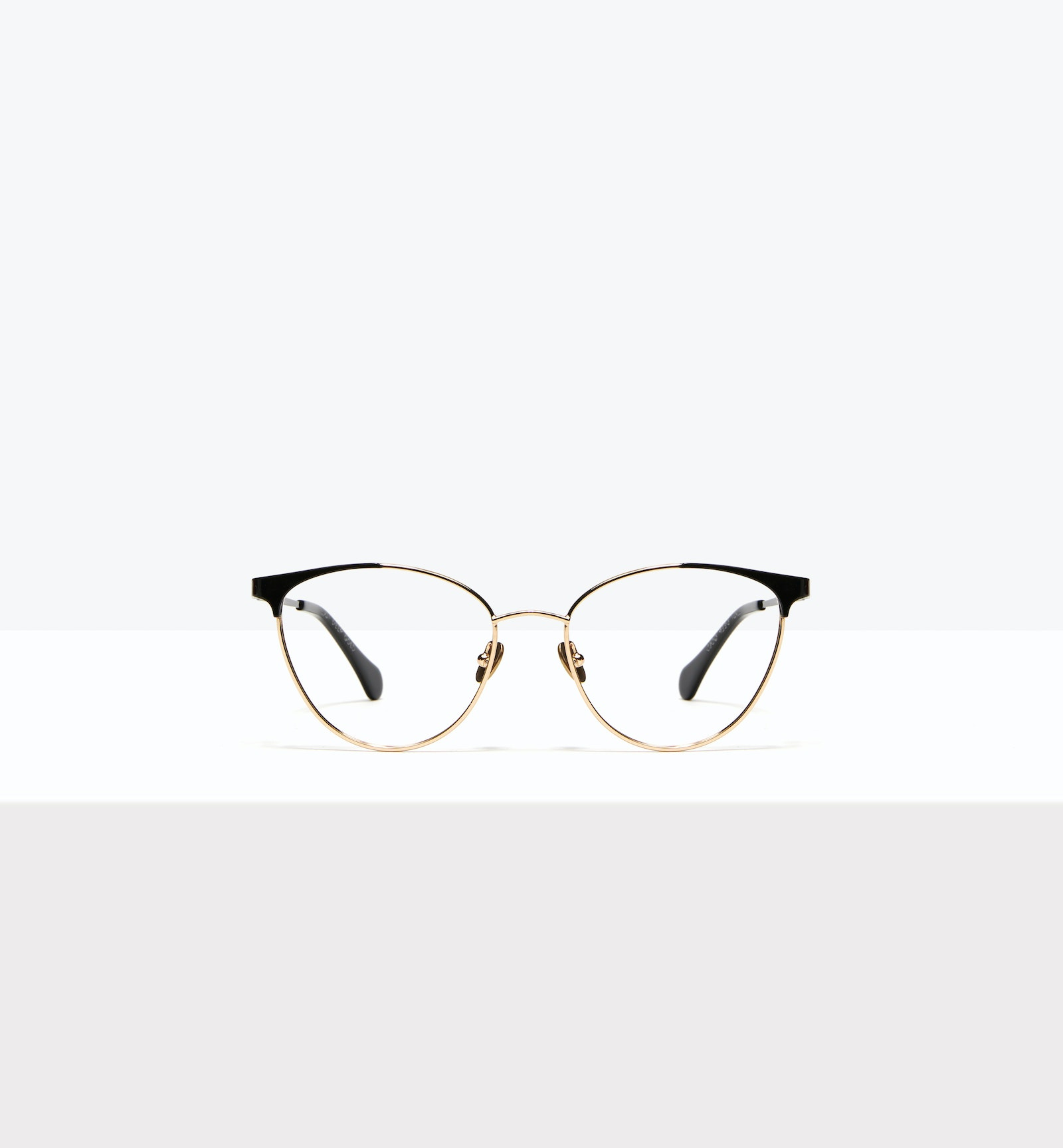 Affordable Fashion Glasses Cat Eye Eyeglasses Women Edgy Deep Gold