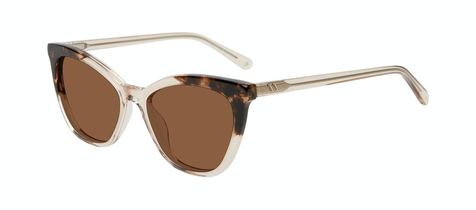Affordable Fashion Glasses Cat Eye Sunglasses Women Elan Golden Tortoise Tilt