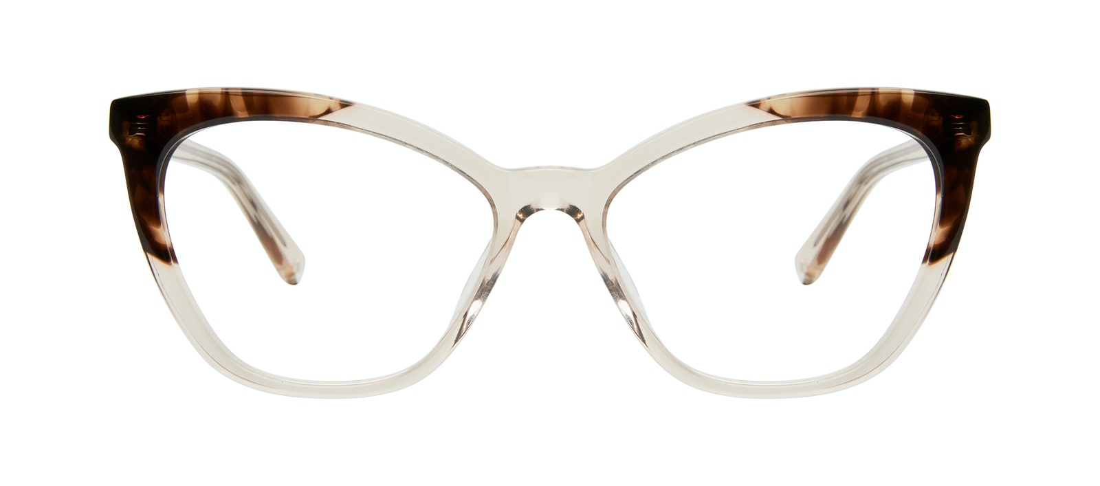 Affordable Fashion Glasses Cat Eye Eyeglasses Women Elan Golden Tortoise Front