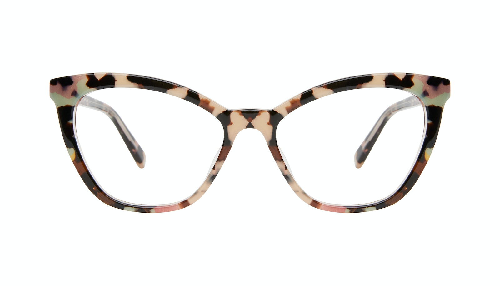 Affordable Fashion Glasses Cat Eye Eyeglasses Women Elan Pastel Tort