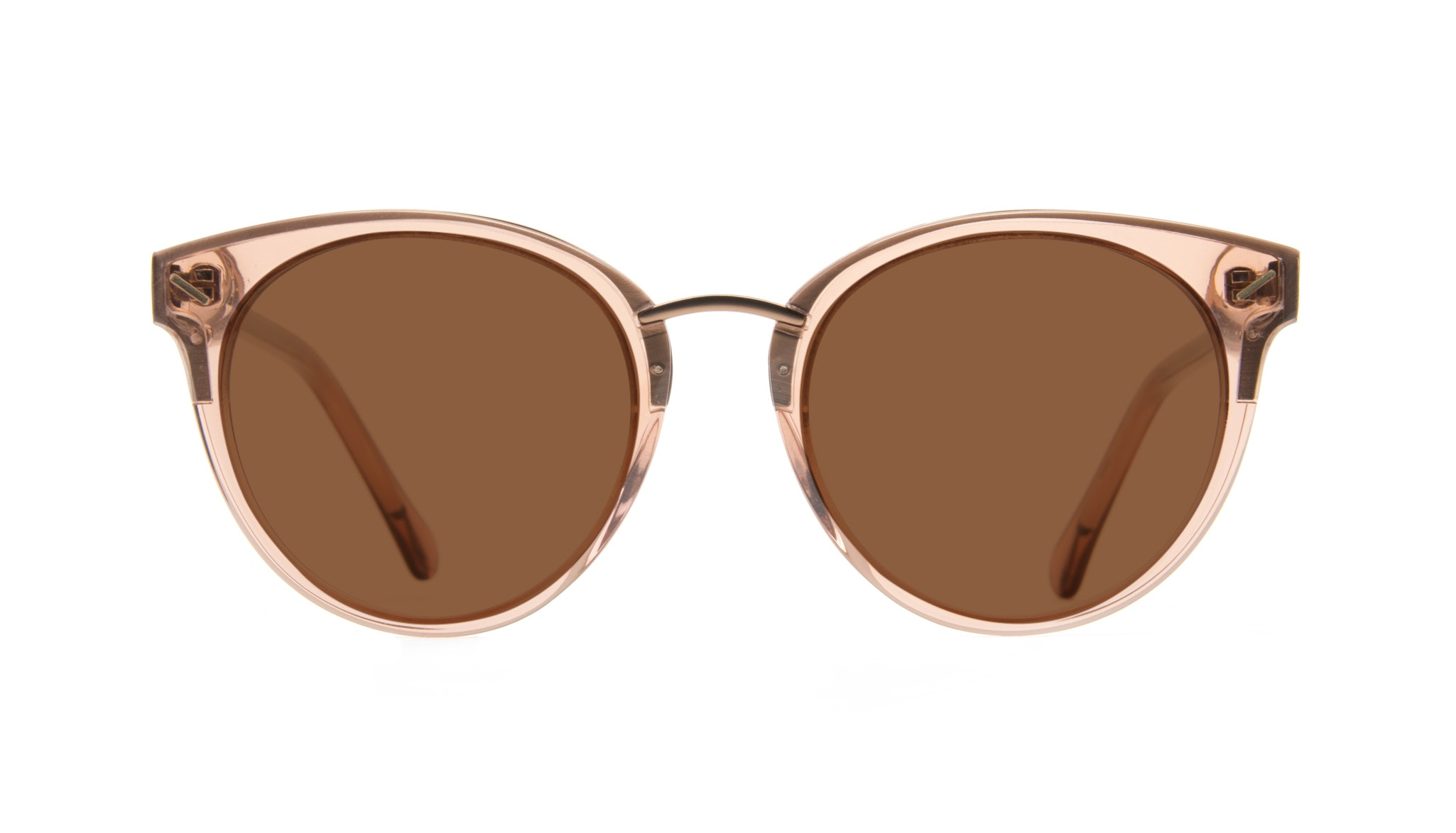Affordable Fashion Glasses Round Eyeglasses Women Element Rose
