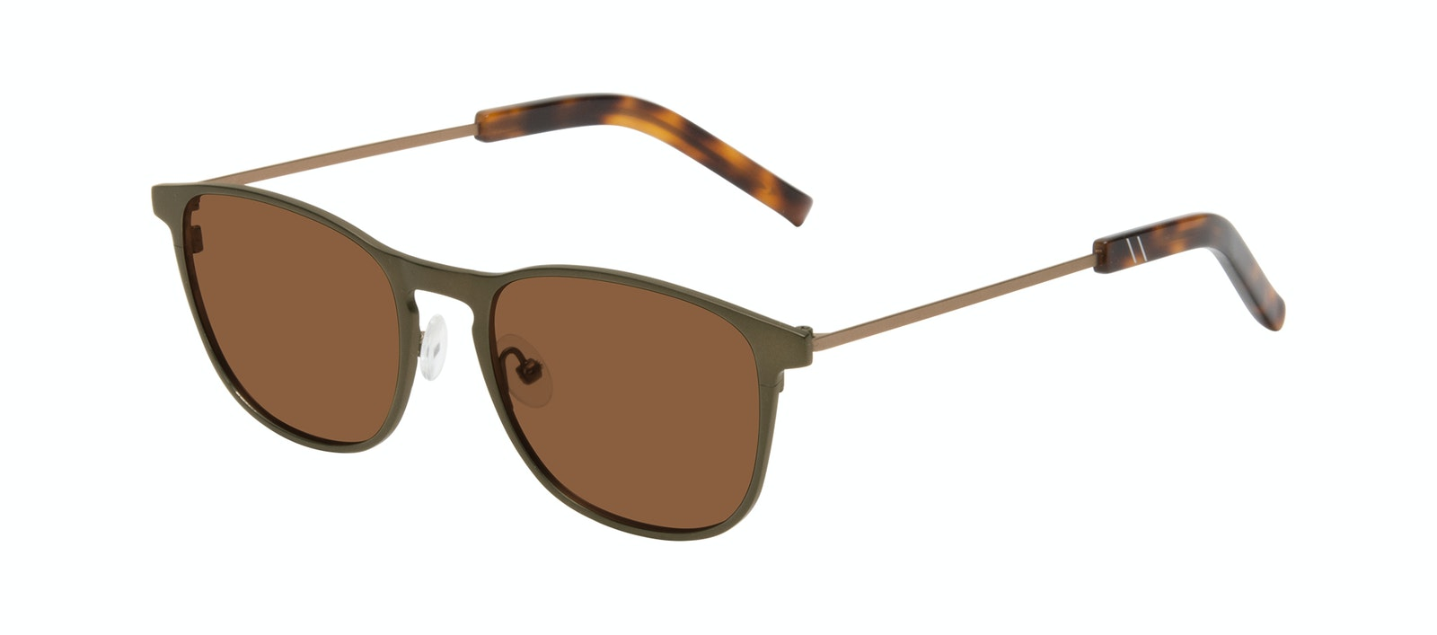 Affordable Fashion Glasses Square Sunglasses Men Elevate Khaki Tilt