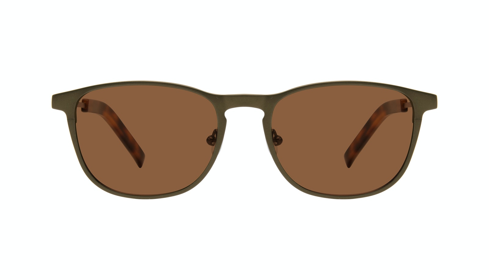 Affordable Fashion Glasses Square Sunglasses Men Elevate Khaki