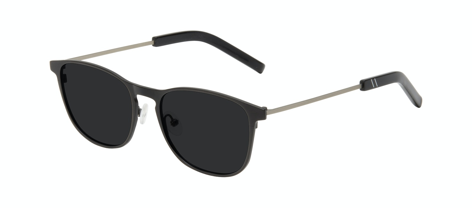 Affordable Fashion Glasses Square Sunglasses Men Elevate Onyx Matte Tilt