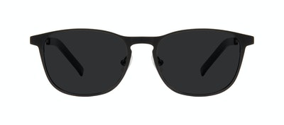 Affordable Fashion Glasses Square Sunglasses Men Elevate Onyx Matte Front
