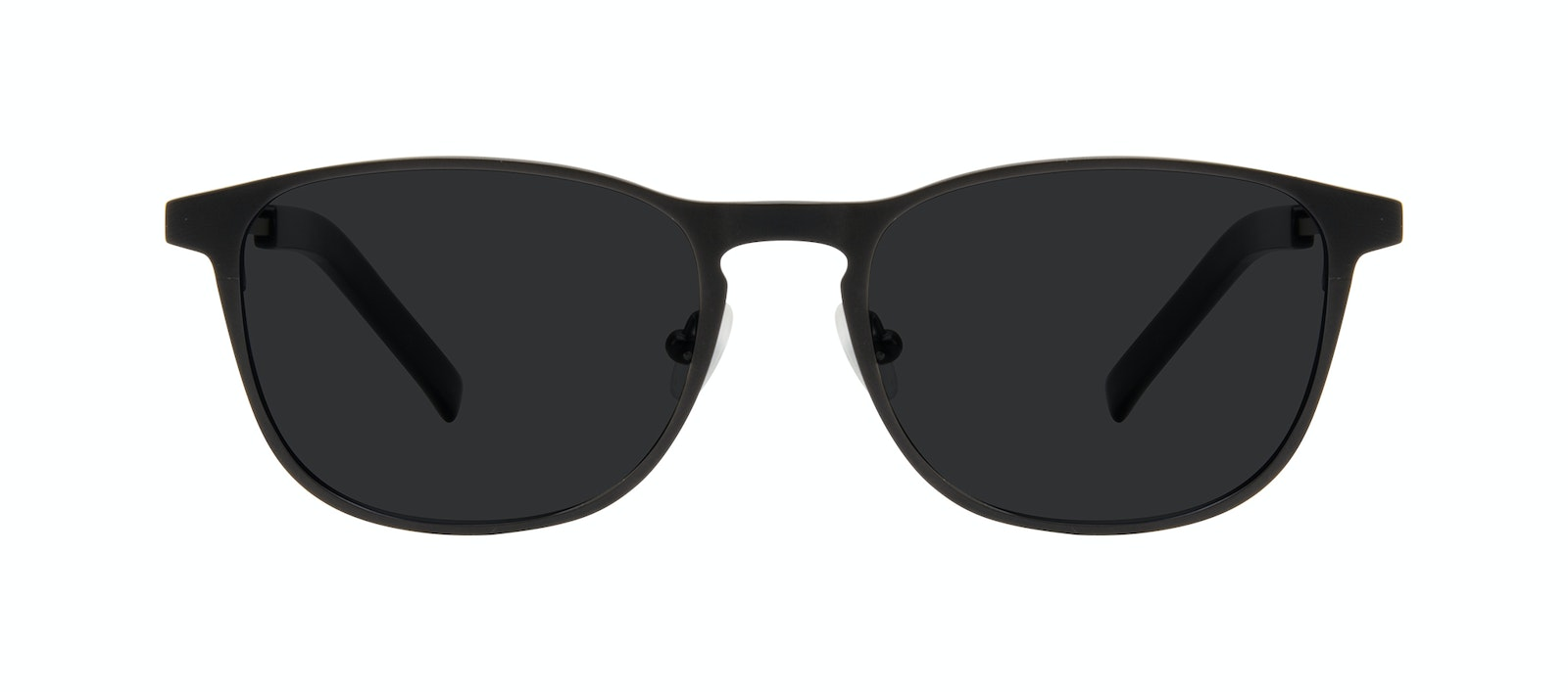Affordable Fashion Glasses Square Sunglasses Men Elevate Onyx Matte Front