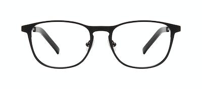Affordable Fashion Glasses Square Eyeglasses Men Elevate Onyx Matte Front