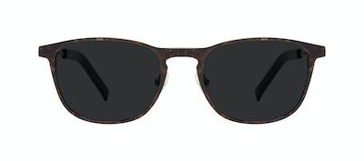 Affordable Fashion Glasses Square Sunglasses Men Elevate Tortoise Front